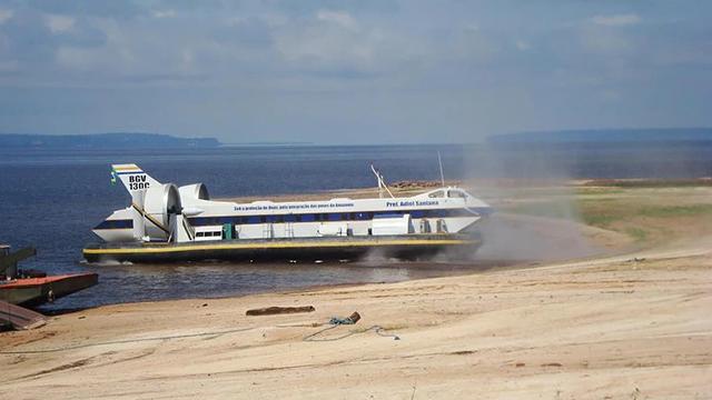 Hovercraft - Navegação Segura Sobre Rios, Lagos e Mar