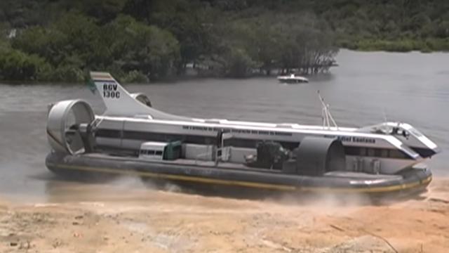 Hovercraft - Veículo Anfíbio
